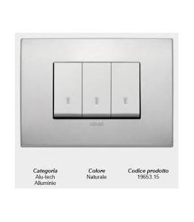 Placca Classic alluminio