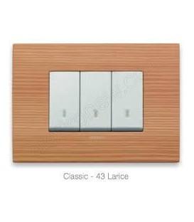 Placca Classic legno